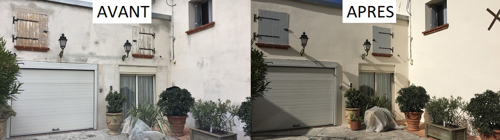 ravalement de façade Levignac